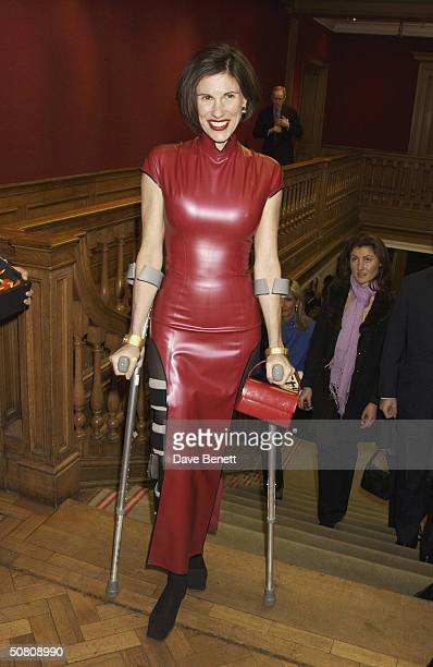 Philippe Starck's wife Nori at the Lighthouse Gala Art Auction in aid of The Terrence Higgins Trust AIDS charity held at Christie's on 22nd March...