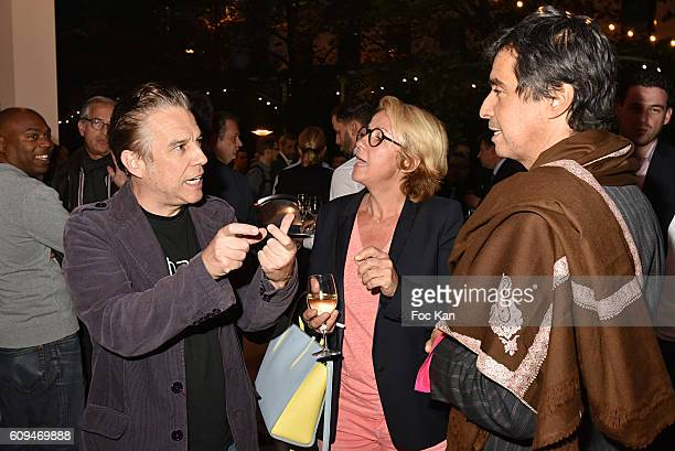 Philippe Vandel Ariane MassenetÊand Ariel Wizman attend the Acer 40th Anniversary at Musee Des Arts Forains on September 20 2016 in Paris France