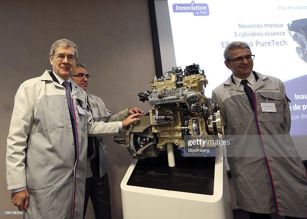 PSA Peugeot Citroen Engine Factory Visit