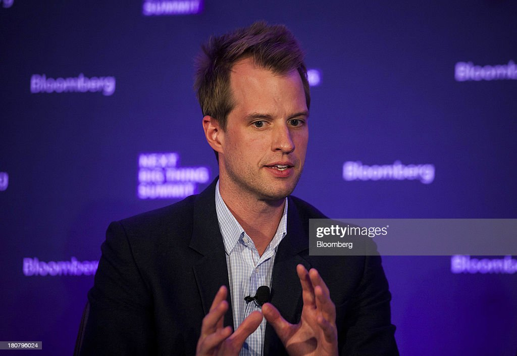 Philippe von Borries, co-founder and chief executive officer of Refinery29 Inc., speaks at the Bloomberg Next Big Thing Summit in New York, U.S., on Monday, Sept. 16, 2013. The conference convenes the most influential investors and industry leaders in innovation and science to explore the great frontiers of how technology is changing the way we live, work, and interact. Photographer: Michael Nagle/Bloomberg via Getty Images