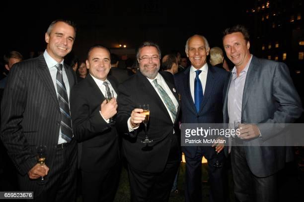 Philippe Vongerichten JeanGeorges Vongerichten Drew Nieporent Phil Suarez and Mark Murphy attend 5th Anniversary Celebration of the MICHELIN GUIDE...