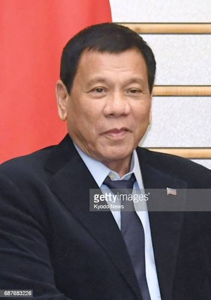 Philippine President Rodrigo Duterte seen in this undated photo said on May 24 that he may expand martial law which he declared the previous day on...