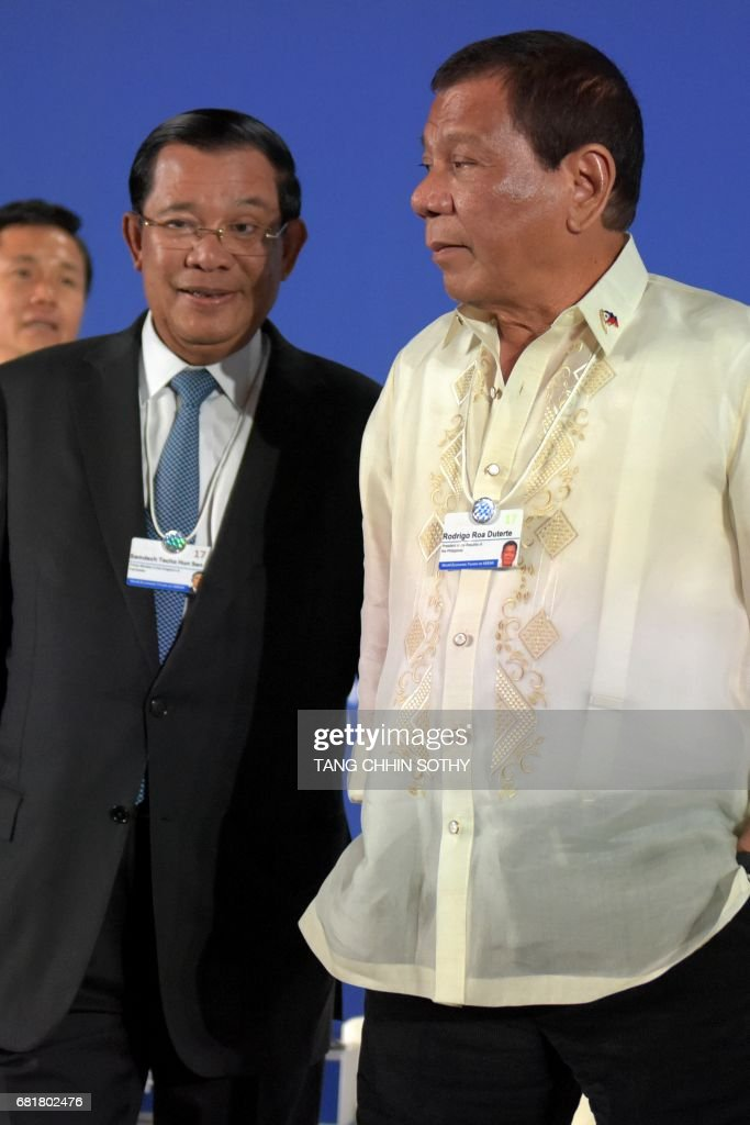 Image result for Hun Sen and Duterte