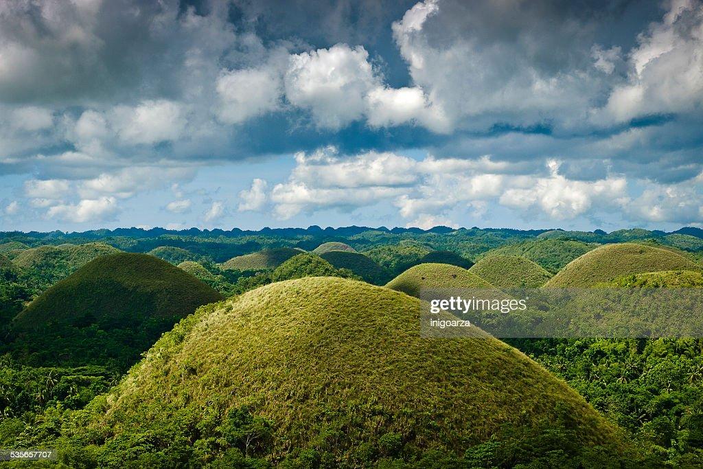 Philippines, Bohol island, Chocolate hills