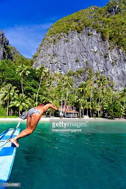 Philippines, Palawan Province, El Nido.