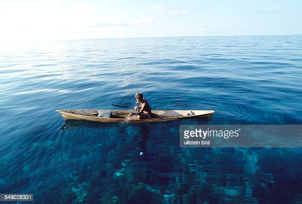 Badjao fisherman off the island Bongao