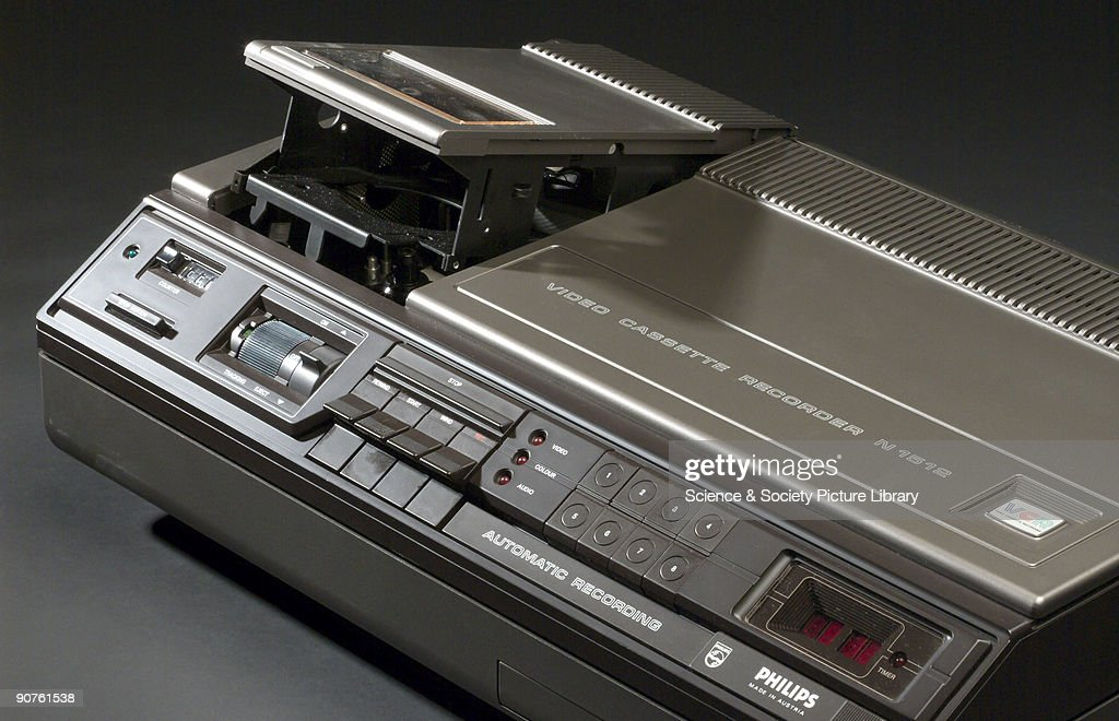 Philips video cassette recorder type N1502 c 1974 Pictures – Proper Minutes Format