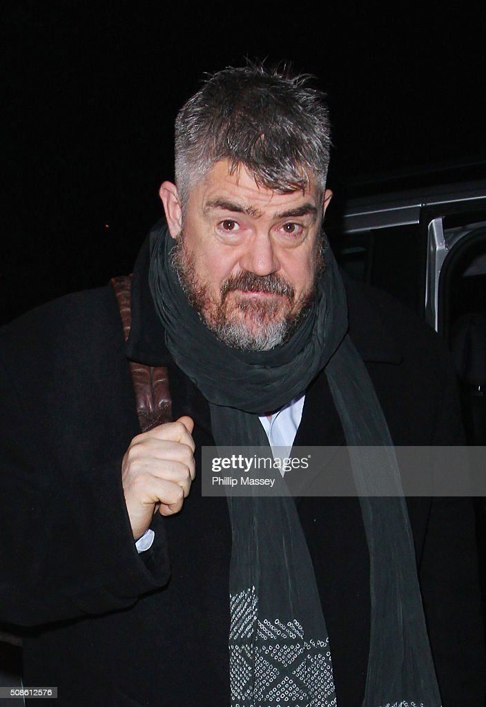 Phill Jupitus attends the Late Late Show on February 5, 2016 in Dublin, Ireland.
