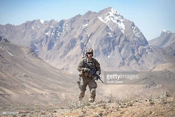 Phillip Allen from Towanda Pennsylvania with the US Army's 2nd Battalion 87th Infantry Regiment 3rd Brigade Combat Team 10th Mountain Division...