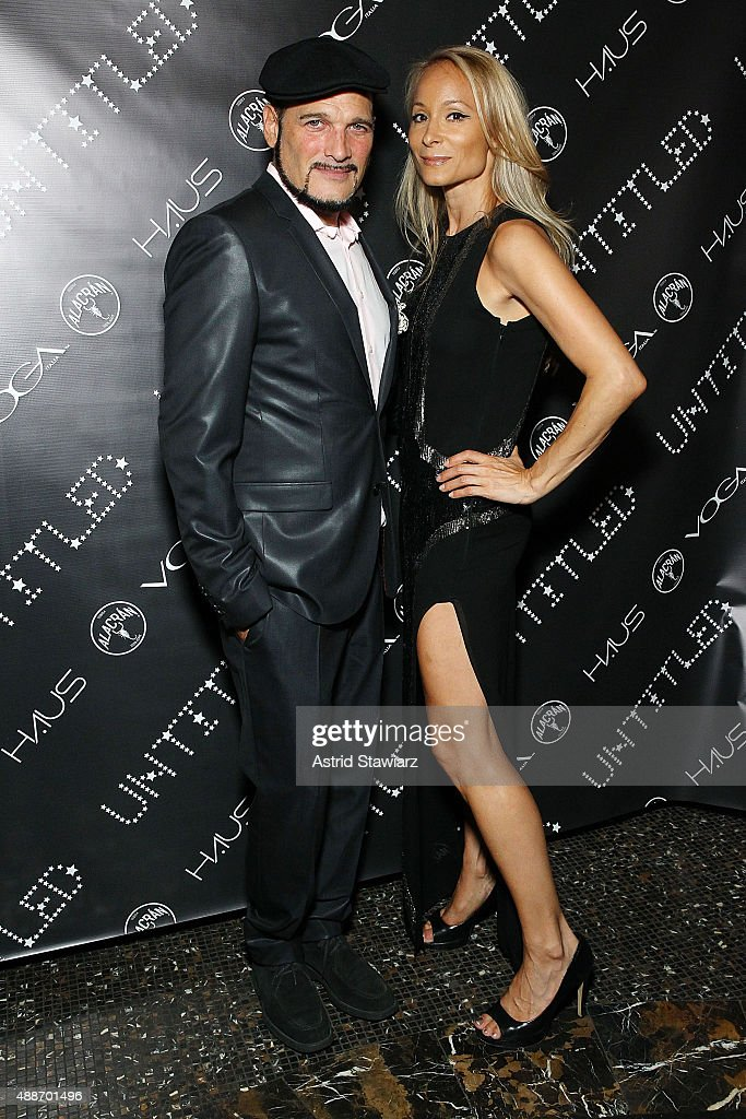 Phillip Bloch and Indira Cesarine attend The Untitled Magazine Celebrates The #GirlPower Issue at Haus on September 16, 2015 in New York City.