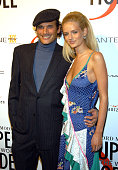 Phillip Bloch and Lydia Hearst during Ford Models' Supermodel of The World World Finals New York at New York Public Library in New York City New York...