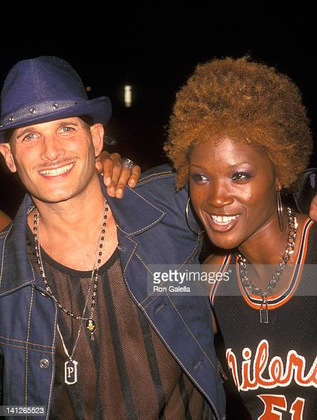 Phillip Bloch and Yolanda Ross at the Stuff Magazine Celebrates the Launch of Rocawear's Fall Ad Campaign Metropolitan Pavilion New York City