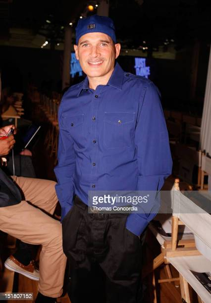 Phillip Bloch arrives at the Tumbler and Tipsy by Michael Kuluva fashion show presented by UbiSoft's 'Just Dance 4' at STYLE360 in the Metropolitan...
