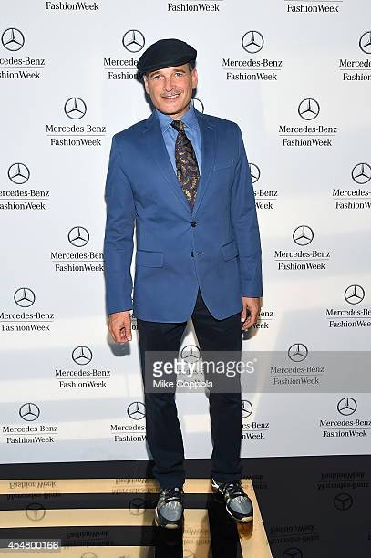 Phillip Bloch attends the MercedesBenz Lounge during MercedesBenz Fashion Week Spring 2015 at Lincoln Center on September 6 2014 in New York City