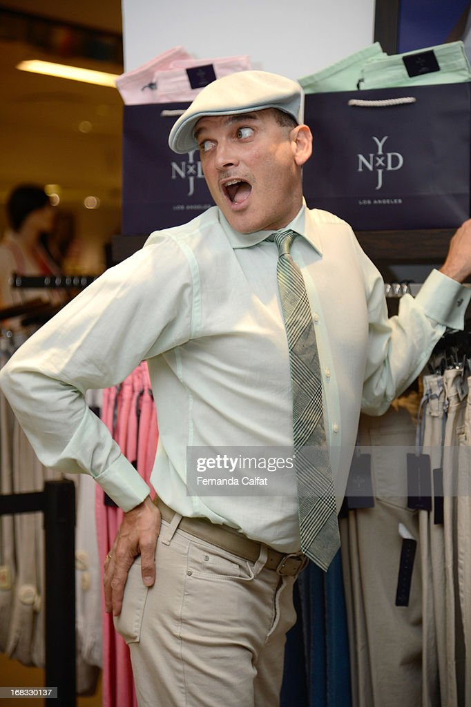 <a gi-track='captionPersonalityLinkClicked' href=/galleries/search?phrase=Phillip+Bloch&family=editorial&specificpeople=204171 ng-click='$event.stopPropagation()'>Phillip Bloch</a> attends the NYDJ Shop Opening Celebration at Bloomingdales at Bloomingdale's 59th Street Store on May 8, 2013 in New York City.
