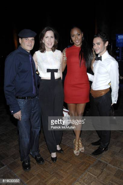 Phillip Bloch Kristie Moran Shontelle and Adrien Field attend The 5th ANNUAL DREAMS IN THE CITY Gala Presented by THE DIABETES RESEARCH INSTITUTE...