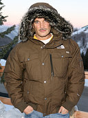 Phillip Bloch wearing The North Face at The Ice Lounge presented by The North Face Lexus and St Regis*Exclusive*
