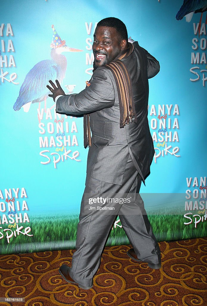 Phillip Boykin attends the after party for 'Vanya And Sonia And Masha And Spike' Broadway opening night at Gotham Hall on March 14, 2013 in New York City.