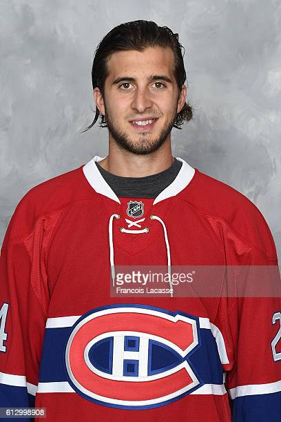 Phillip Danault of the Montreal Canadiens poses for his official headshot for the 20162017 season on September 22 2016 at the Bell Sports Complex in...