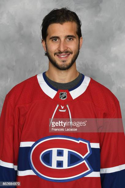 Phillip Danault of the Montreal Canadiens poses for his official headshot for the 20172018 season on September 14 2017 at the Bell Sports Complex in...