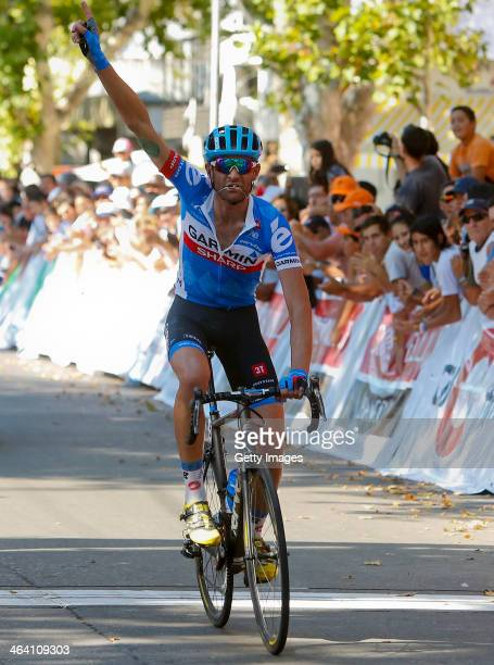 Phillip Gaimon of USA and Team GarminSharp wins the Stage One of the VIII Tour de San Luis a 1662 km road stage from San Luis Villa Mercedes on...