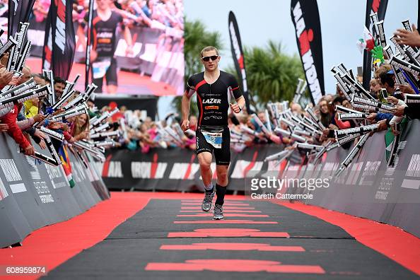 Phillip Graves of Great Britain in action during Ironman Wales on September 18 2016 in Pembroke Wales