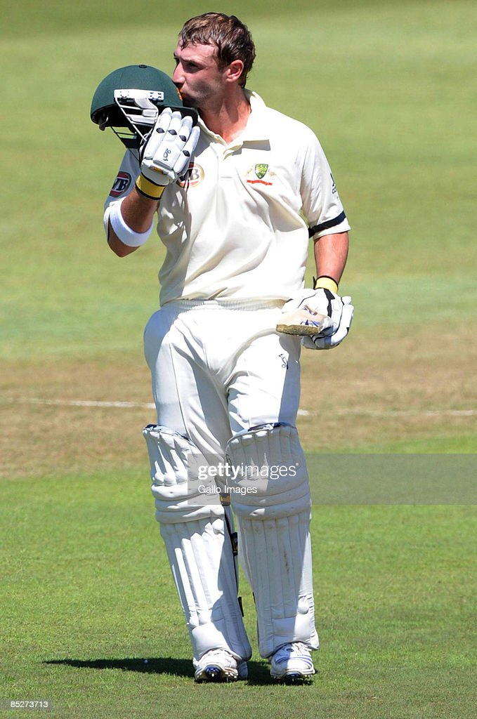 South Africa v Australia - 2nd Test Day One