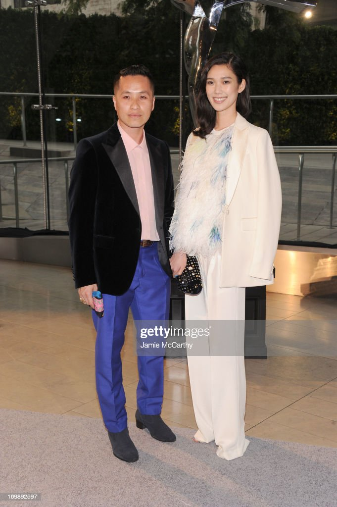 Phillip Lim (L) attends the 2013 CFDA Fashion Awards on June 3, 2013 in New York, United States.