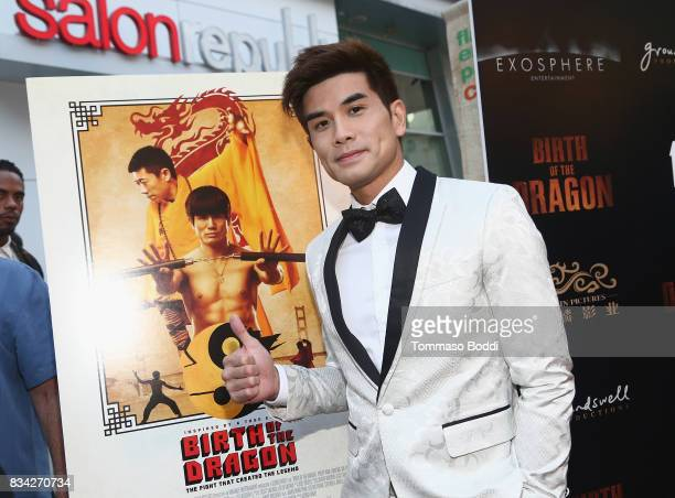 Phillip Ng attends the Premiere Of WWE Studios' 'Birth Of The Dragon' at ArcLight Hollywood on August 17 2017 in Hollywood California