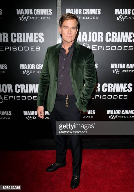 Phillip P Keene at TNT's 'Major Crimes' 100th episode celebration at 71Above on October 7 2017 in Los Angeles California