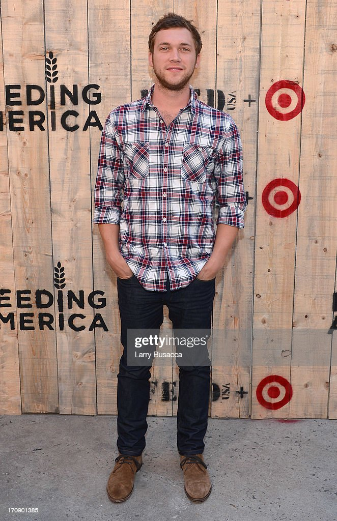 <a gi-track='captionPersonalityLinkClicked' href=/galleries/search?phrase=Phillip+Phillips&family=editorial&specificpeople=1651494 ng-click='$event.stopPropagation()'>Phillip Phillips</a> attends FEED USA + Target launch event on June 19, 2013 in New York City.