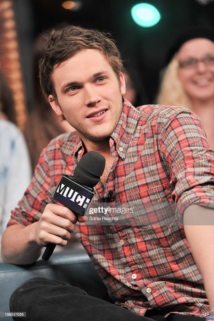 Phillip Phillips attends NEW.MUSIC.LIVE. at MuchMusic Headquarters on December 18, 2012 in Toronto, Canada.