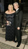 Phillip Schofield and Fern Britton arrive at ITV's 50th Anniversary Royal Reception at the Guildhall on October 13 2005 in London England Queen...