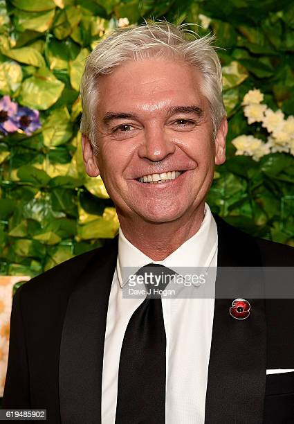 Phillip Schofield attends the Daily Mirror Pride of Britain Awards in Partnership with TSB at The Grosvenor House Hotel on October 31 2016 in London...