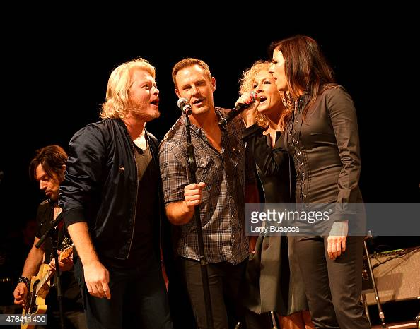 Phillip Sweet Jimi Westbrook Kimberly Schlapman Karen Fairchild of Little Big Town perform at 6th Annual 'Darius And Friends' Concert at Wildhorse...