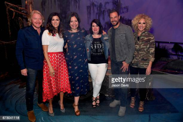 Phillip Sweet Karen Fairchild Grand Ole Opry General Manager Sally Williams Grand Ole Opry Director of Retail Kim O'Dell Jimi Westbrook and Kimberly...