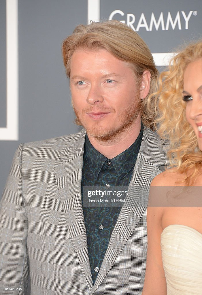 Phillip Sweet of Little Big Town arrives at the 55th Annual GRAMMY Awards at Staples Center on February 10, 2013 in Los Angeles, California.