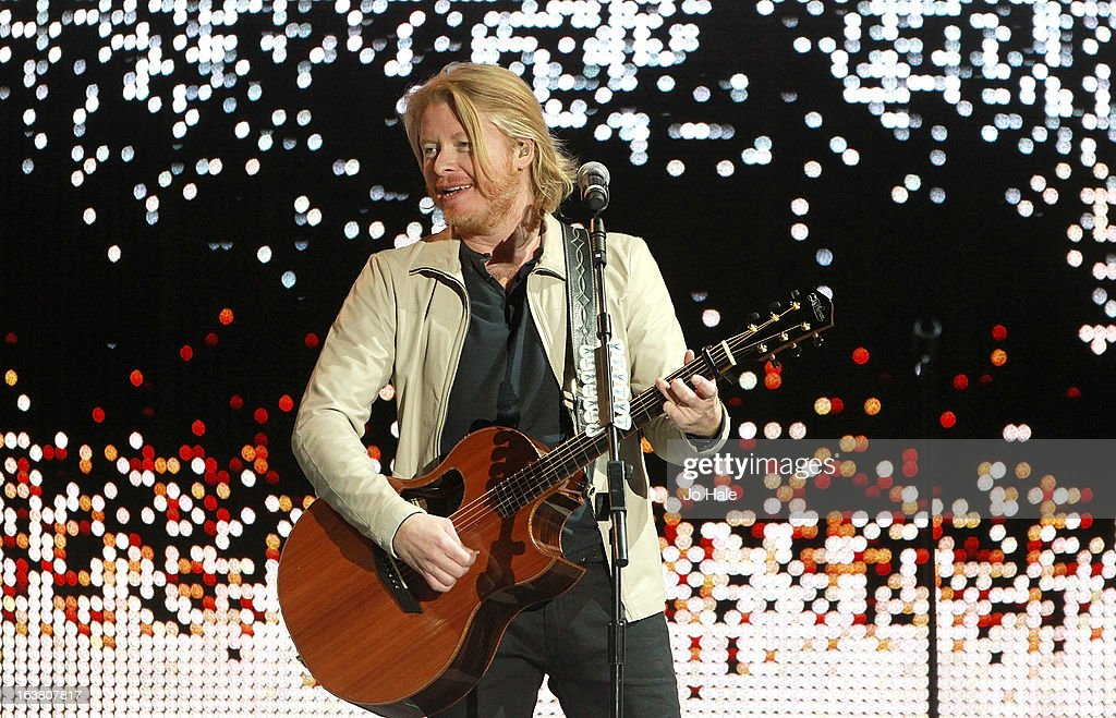 Phillip Sweet of Little Big Town performs on stage on Day 1 of C2C: Country To Country Festival 2013 at O2 Arena on March 16, 2013 in London, England.