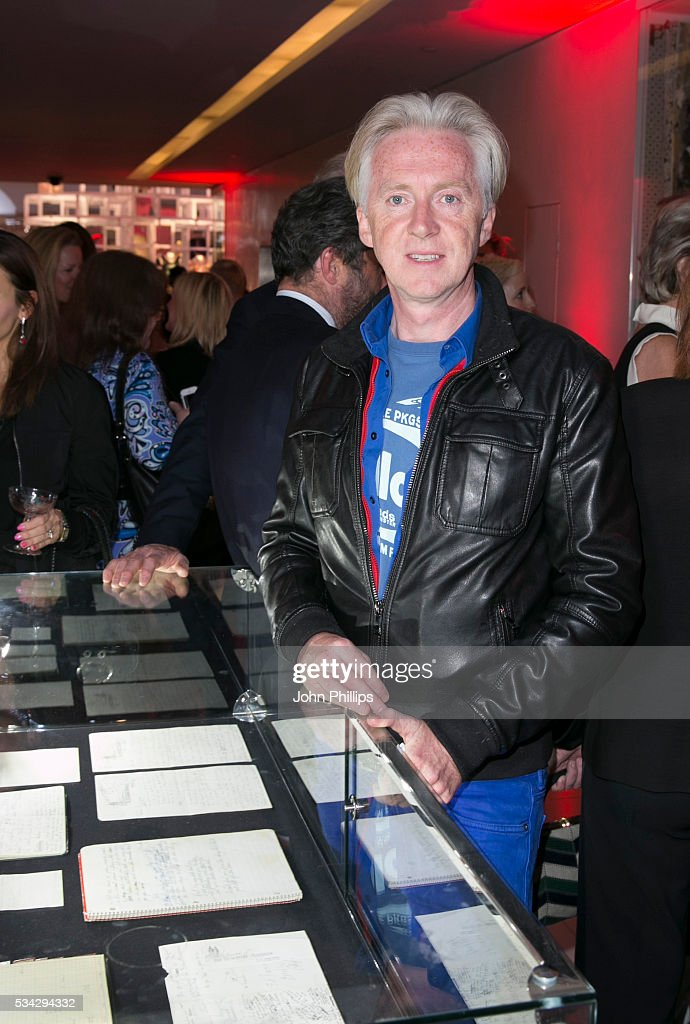 Phillip Treacy attends the Marilyn Monroe: Legacy of a Legend launch party at Design Centre, Chelsea Harbour at Design Centre on May 25, 2016 in London, England.