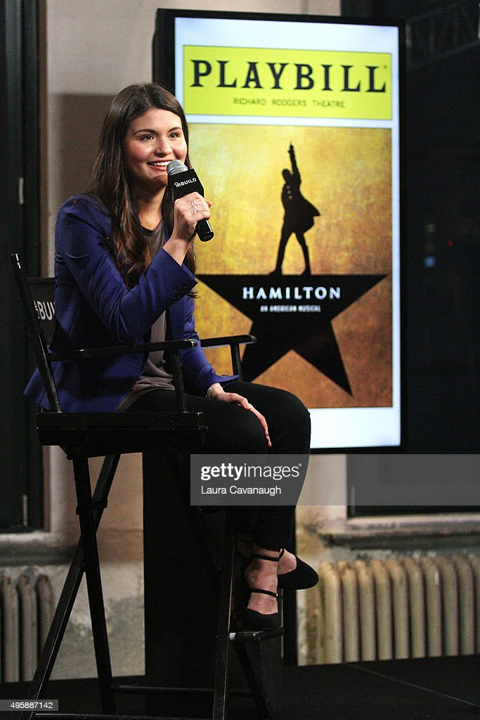 "AOL BUILD Series Presents: Phillipa Soo Discusses Her Role In Broadway's ""Hamilton"""