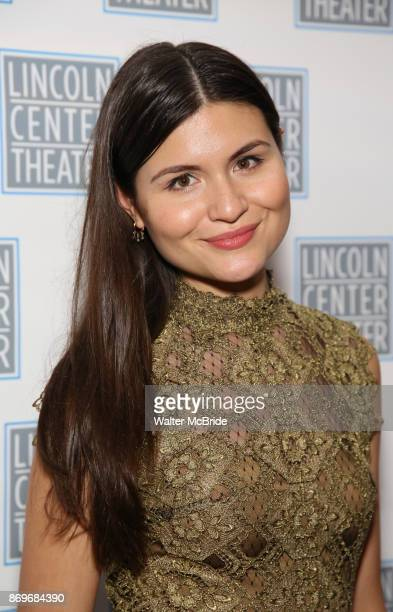 Phillipa Soo attends the Opening Night After Party for the Lincoln Center Theater Production of 'Junk' on November 2 2017 at Tavern On The Green in...