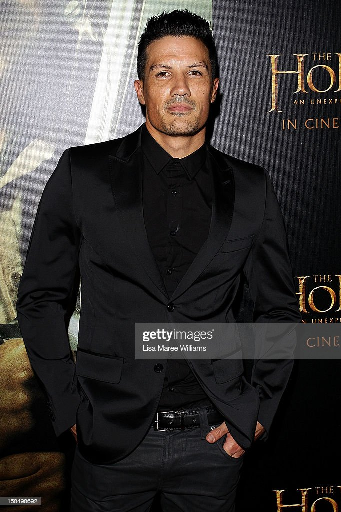 Phillipe Witana attends the Sydney premiere of 'The Hobbit: An Unexpected Journey' at George Street V-Max Cinemas on December 18, 2012 in Sydney, Australia.