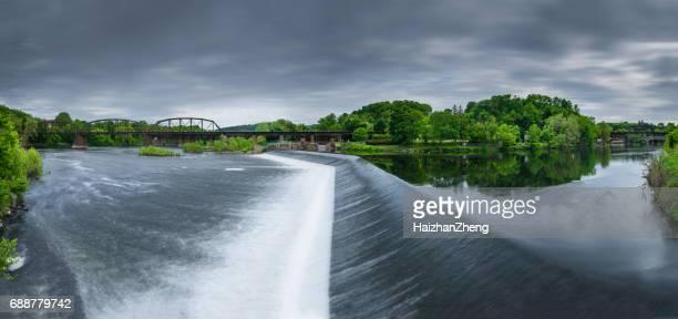 Phillipsburg, New Jersey, sur la rivière Delaware Easton