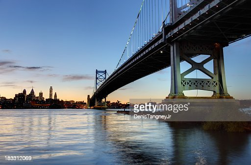 Philly and the Ben Franklin Bridge