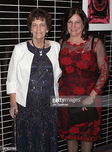 Philomena Lee and her daughter Jane attend the after party for the premiere of 'Philomena' hosted by The Weinstein Company at The Skylark on November...