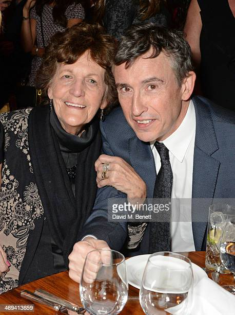 Philomena Lee and Steve Coogan attend Harvey Weinstein's preBAFTA dinner in partnership with Burberry and Grey Goose at Little House Mayfair on...