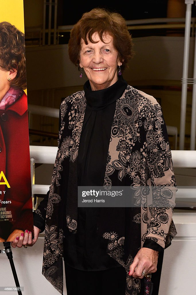 <a gi-track='captionPersonalityLinkClicked' href=/galleries/search?phrase=Philomena+Lee&family=editorial&specificpeople=11489545 ng-click='$event.stopPropagation()'>Philomena Lee</a> attends a special screening of 'Philomena' at the Museum Of Tolerance on February 11, 2014 in Los Angeles, California.