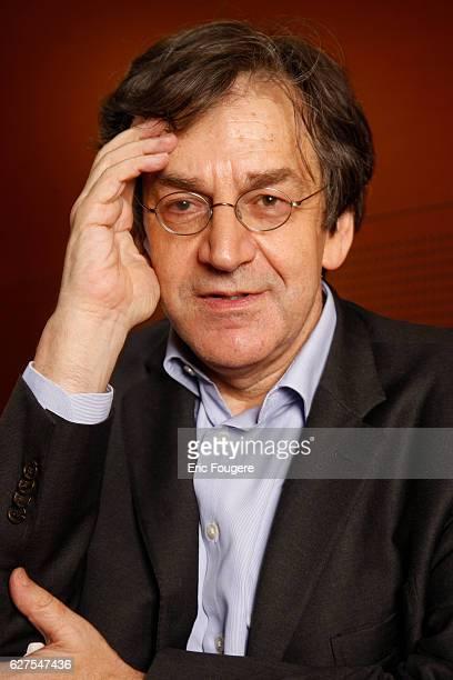 Philosopher and writer Alain Finkielkraut