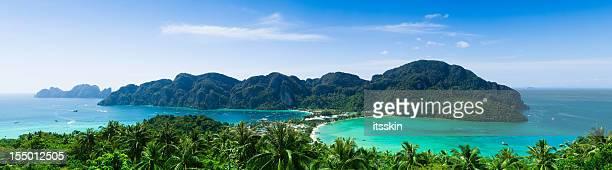 Phi-Phi island panorama