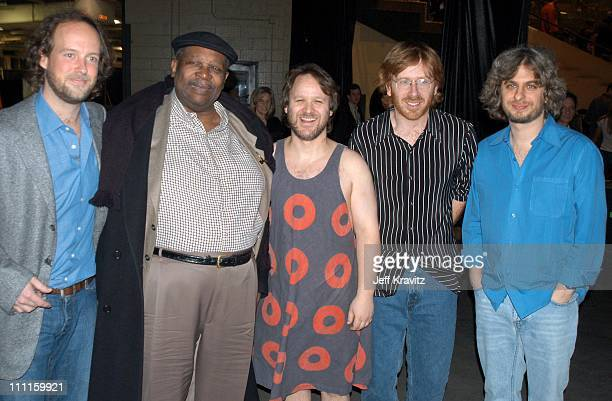 Phish BB King during Phish Live in New Jersey at Continental Airlines Arena in Secaucus New Jersey United States
